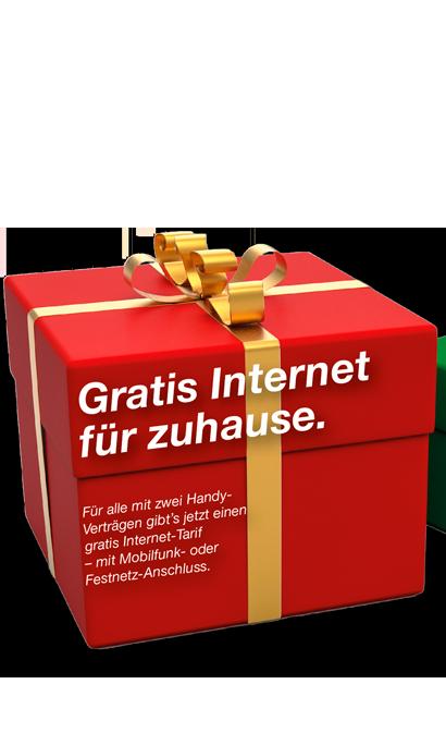 gratis internet für zuhause